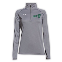 GREEN LANE LADIES UNDER ARMOUR STRIPE TECH 1/4 ZIP