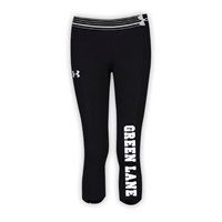 GREEN LANE GIRLS UNDER ARMOUR HEAT GEAR ALPHA CAPRI
