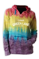 GREEN LANE COURTNEY BURNOUT V-NOTCH SWEATSHIRT