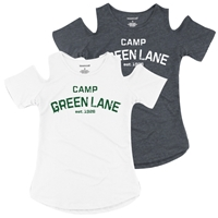 GREEN LANE COLD SHOULDER TEE