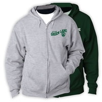 GREEN LANE FULL ZIP HOODED SWEATSHIRT