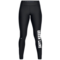GREEN LANE LADIES UNDER ARMOUR HEAT GEAR LEGGING