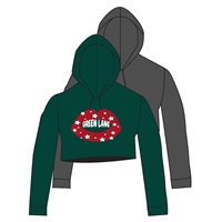 GREEN LANE CUSTOM CROPPED HOODY CUT BY ALI & JOE
