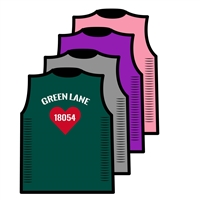 GREEN LANE CUSTOM DESIGN CUT OUT SIDE TEE BY ALI & JOE