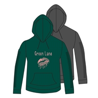 GREEN LANE FULL SLEEVE SNIP HOODY CUT BY ALI & JOE