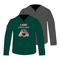 GREEN LANE GRUNDGE HOODY CUT BY ALI & JOE