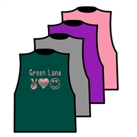 GREEN LANE MEGA CROP TEE BY ALI & JOE