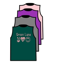 GREEN LAKE MUSCLE TEE BY ALI & JOE