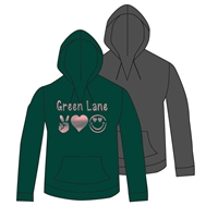 GREEN LANE V-NOTCH HOODY CUT BY ALI & JOE