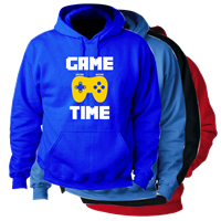 GAME TIME HOODED SWEATSHIRT