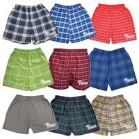 GOLDMAN UNION FLANNEL BOXERS