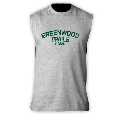 GREENWOOD TRAILS SLEEVLESS TEE