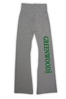 GREENWOOD AMERICAN APPAREL COTTON SPANDEX JERSEY YOGA PANT