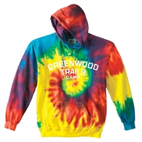 GREENWOOD TRAILS SWIRL TIE DYE SWEATSHIRT