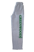 GREENWOOD TRAILS OPEN BOTTOM SWEATPANTS WITH POCKETS