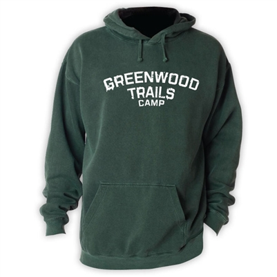GREENWOOD TRAILS VINTAGE HOODED SWEATSHIRT
