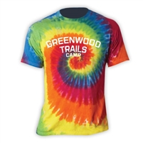 GREENWOOD TRAILS SWIRL TIE DYE TEE