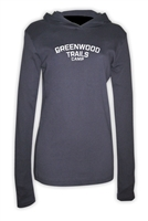 GREENWOOD TRAILS AMERICAN APPAREL LONG SLEEVE HOODY