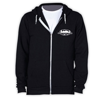 GREENWOOD TRAILS AMERICAN APPAREL FLEX FLEECE HOODY