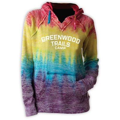 GREENWOOD COURTNEY BURNOUT V-NOTCH SWEATSHIRT