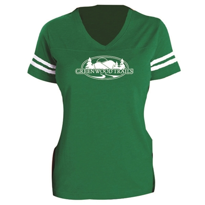 GREENWOOD LADIES GAME DAY TEE
