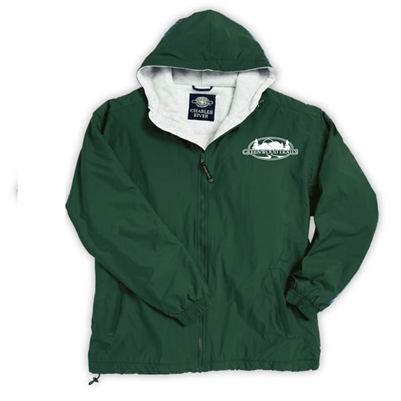 GREENWOOD TRAILS FULL ZIP JACKET WITH HOOD