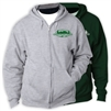 GREENWOOD TRAILS FULL ZIP HOODED SWEATSHIRT