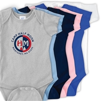 HALF MOON INFANT BODYSUIT