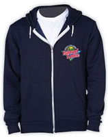 ISLAND LAKE AMERICAN APPAREL FLEX FLEECE HOODY