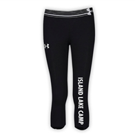 ISLAND LAKE GIRLS UNDER ARMOUR HEAT GEAR ALPHA CAPRI