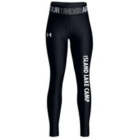 ISLAND LAKE GIRLS UNDER ARMOUR HEAT GEAR LEGGING