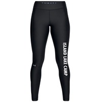 ISLAND LAKE LADIES UNDER ARMOUR HEAT GEAR LEGGING
