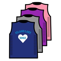 ISLAND LAKE CUSTOM DESIGN CUT OUT SIDE TEE BY ALI & JOE
