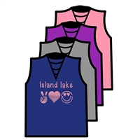 ISLAND LAKE DEEP RIBBON TEE BY ALI & JOE
