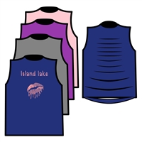 ISLAND LAKE MUSCLE WITH RIBBON BACK TEE BY ALI & JOE