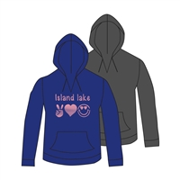 ISLAND LAKE V-NOTCH HOODY CUT BY ALI & JOE