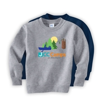JCC CAMPS <u><b>At Medford</b></u> TODDLER CREW SWEATSHIRT