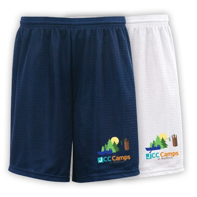 JCC CAMPS <u><b>At Medford</b></u> EXTREME MESH ACTION SHORTS