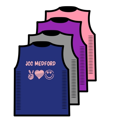 JCC CAMPS CUT OUT SIDE TEE BY ALI & JOE