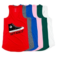 JCC CAMPS <u><b>At Medford</b></u> SNEAKER AT EASE TANK BY LUXEBASH