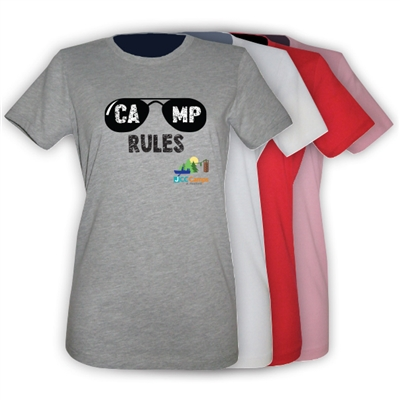 JCC CAMPS <u><b>At Medford</b></u> SUNGLASS GIRLS FITTED TEE