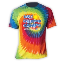 JCC EARLY CHILDHOOD CAMPS SWIRL TIE DYE TEE