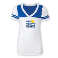 JCC EARLY CHILDHOOD CAMPS SPORTY BURNOUT V-NECK
