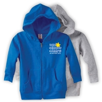 JCC EARLY CHILDHOOD CAMPS TODDLER FULL ZIP HOODED SWEATSHIRT
