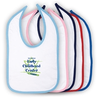 JCC EARLY CHILDHOOD CENTER INFANT VELCRO BIB