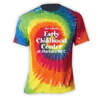 JCC EARLY CHILDHOOD CENTER SWIRL TIE DYE TEE