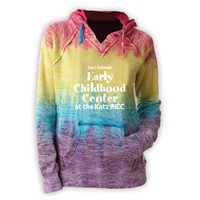 JCC EARLY CHILDHOOD CENTER COURTNEY BURNOUT V-NOTCH SWEATSHIRT