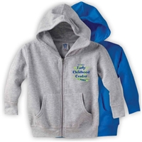JCC EARLY CHILDHOOD CENTER TODDLER FULL ZIP HOODED SWEATSHIRT
