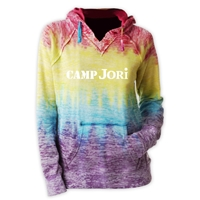 JORI COURTNEY BURNOUT V-NOTCH SWEATSHIRT