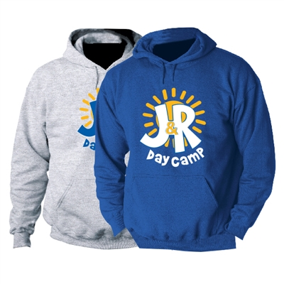 J&R DAY CAMP HOODED SWEATSHIRT